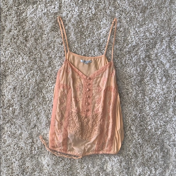 American Eagle Outfitters Tops - AEO Embroidered Tank
